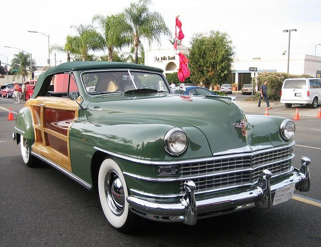 1947 Chrysler Town Country Convertible Vintage Woodies And