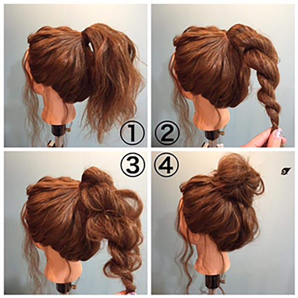 Easy Hairstyles For Women To Look Stylish In No Time #topknotbunhowto