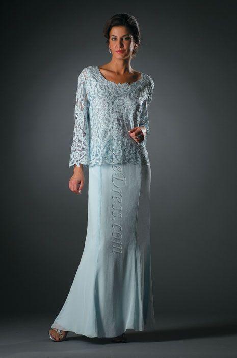 a0191a30c Vestidos Modernos para la Madre de la Novia 5