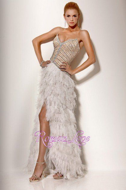 Prom Dress Of The Week Wedding Days Pinterest Prom Ostrich