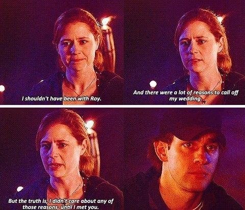 Jim And Pam Wedding Episode.11 Times We Fell In Love With Jim Halpert And Pam Beesly