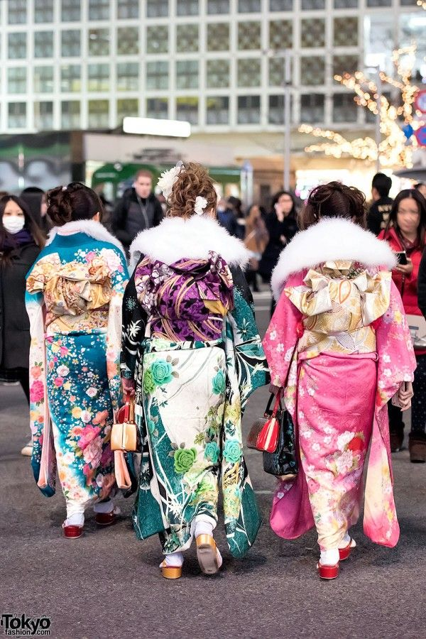 Coming Of Age Day in Japan Kimono (154)