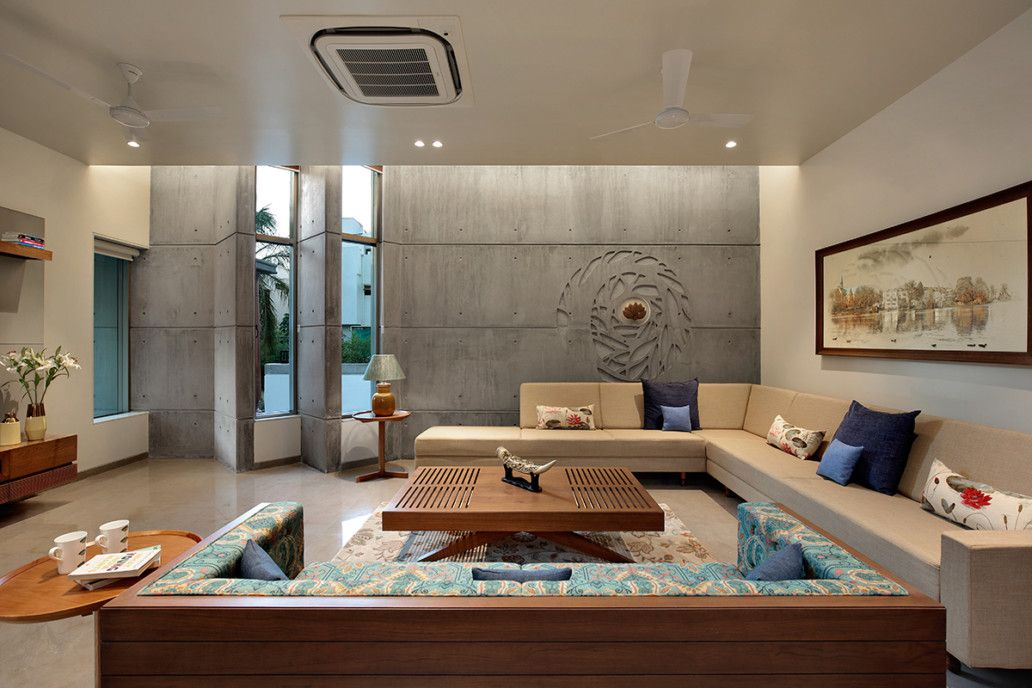 Living Room Indian Modern House Interior Design Wowhomy