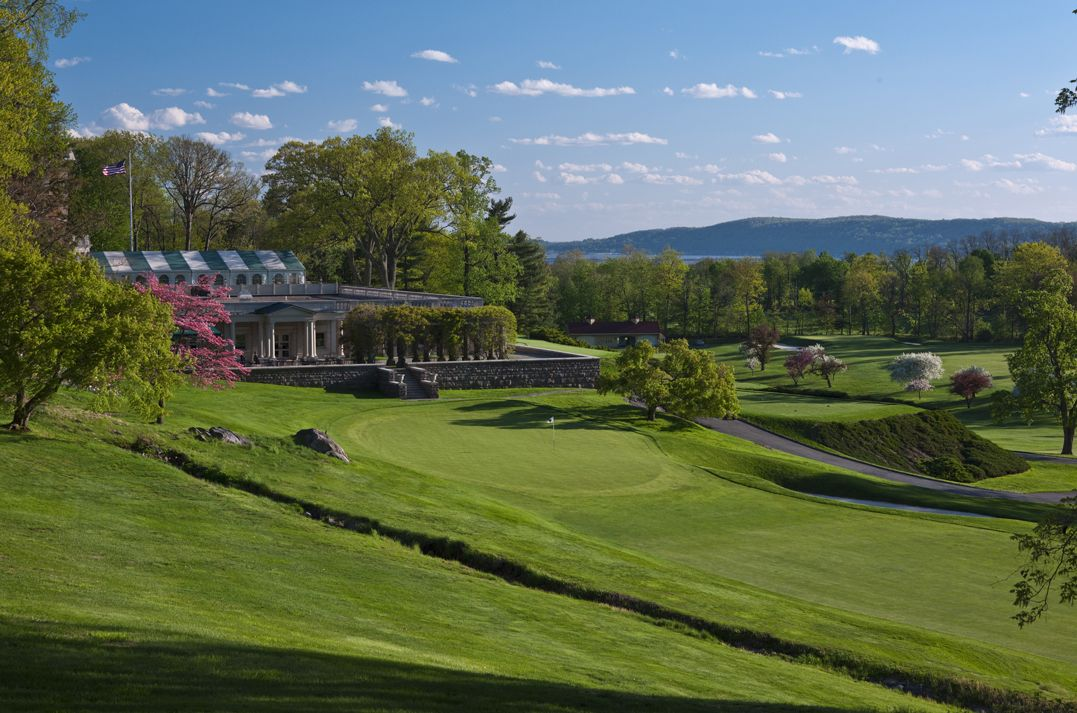 Sleepy Hollow Country Club - 18th green and 1st tee