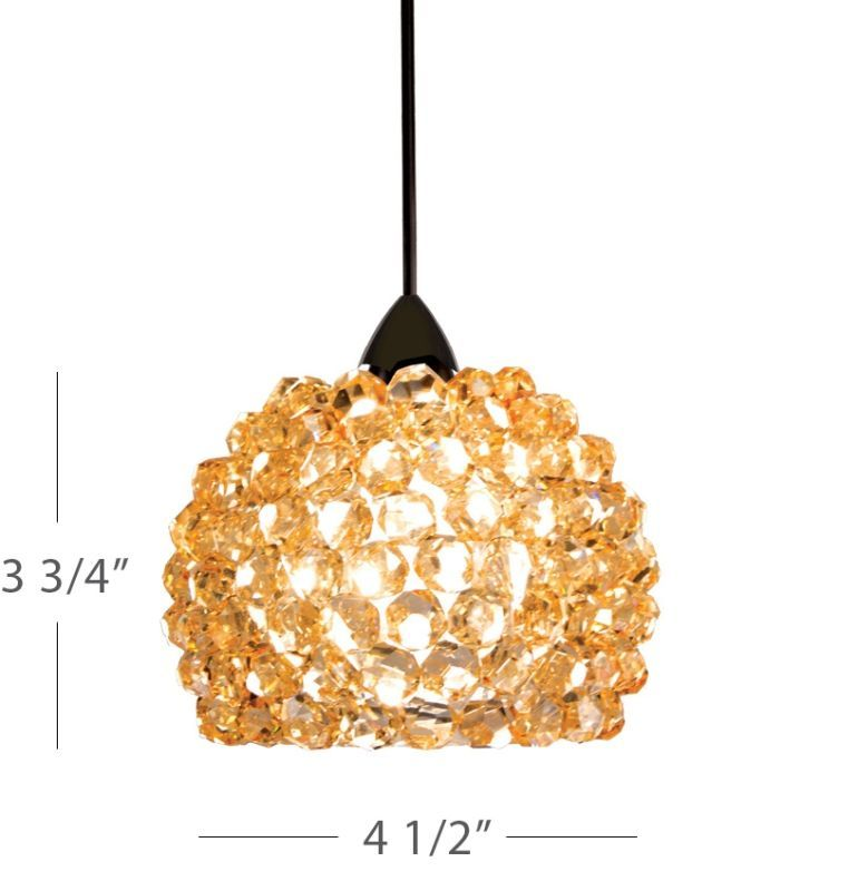 WAC Lighting QP542 Gia 1 Light Low Voltage Quick Connect™ Track ...