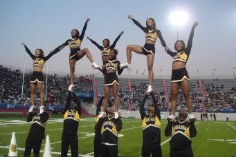 Alabama State University Cheerleaders