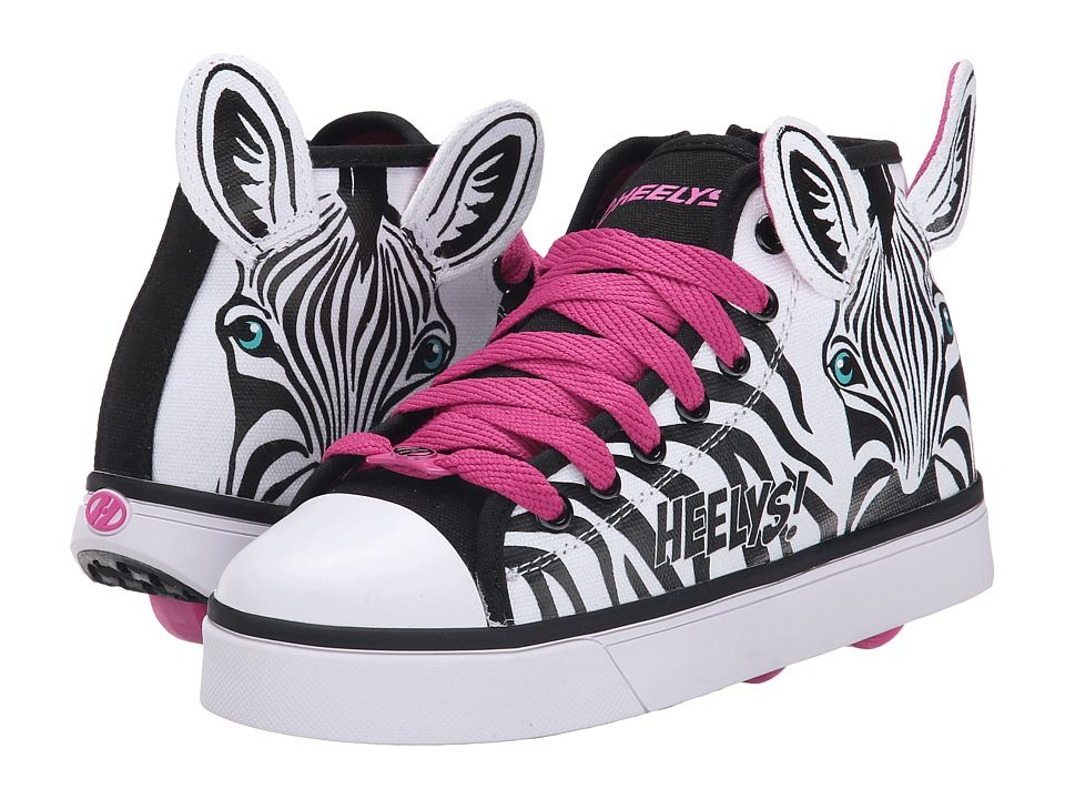 Get online Heelys - Zoo Crew (Little Kid/Big Kid/Adult) (Zebra) Girls Shoes  shoe zoo