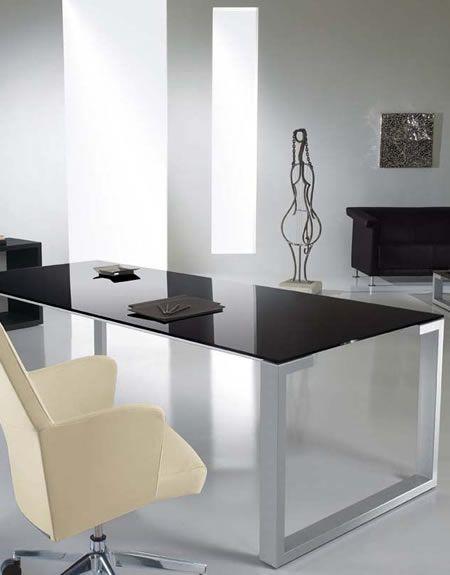 Modernglassdesk Glass Desk Office Modern Glass Desk Business Office Decor