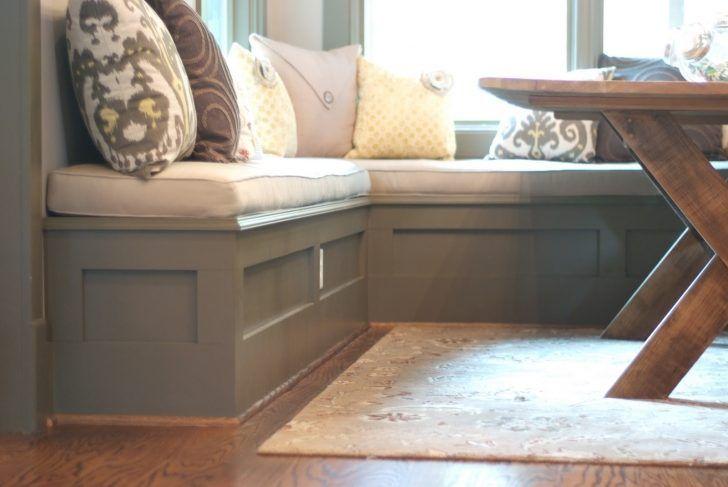 Attrayant Kitchen Wonderful Kitchen Nook Bench With Storage Grey Painted Wood Kitchen  Bench White Fabric Bench Seat