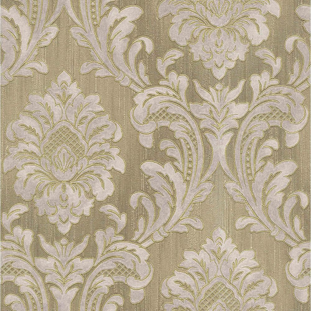 Brewster 8 In X 10 In Giudecca Taupe Damask Wallpaper Sample Brown In 2020 Wallpaper Samples Paisley Wallpaper Damask Wallpaper