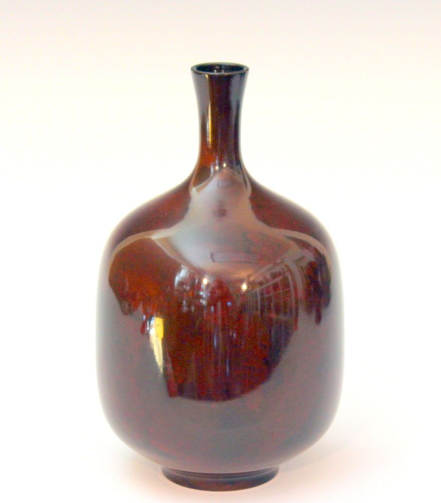 Vintage Mid Century Old Japanese Patinated Ancient Bronze Verdigris Bottle Vase #Japanese