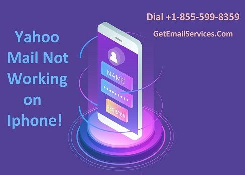 If your Yahoo Mail App Not Working on iPhone device then