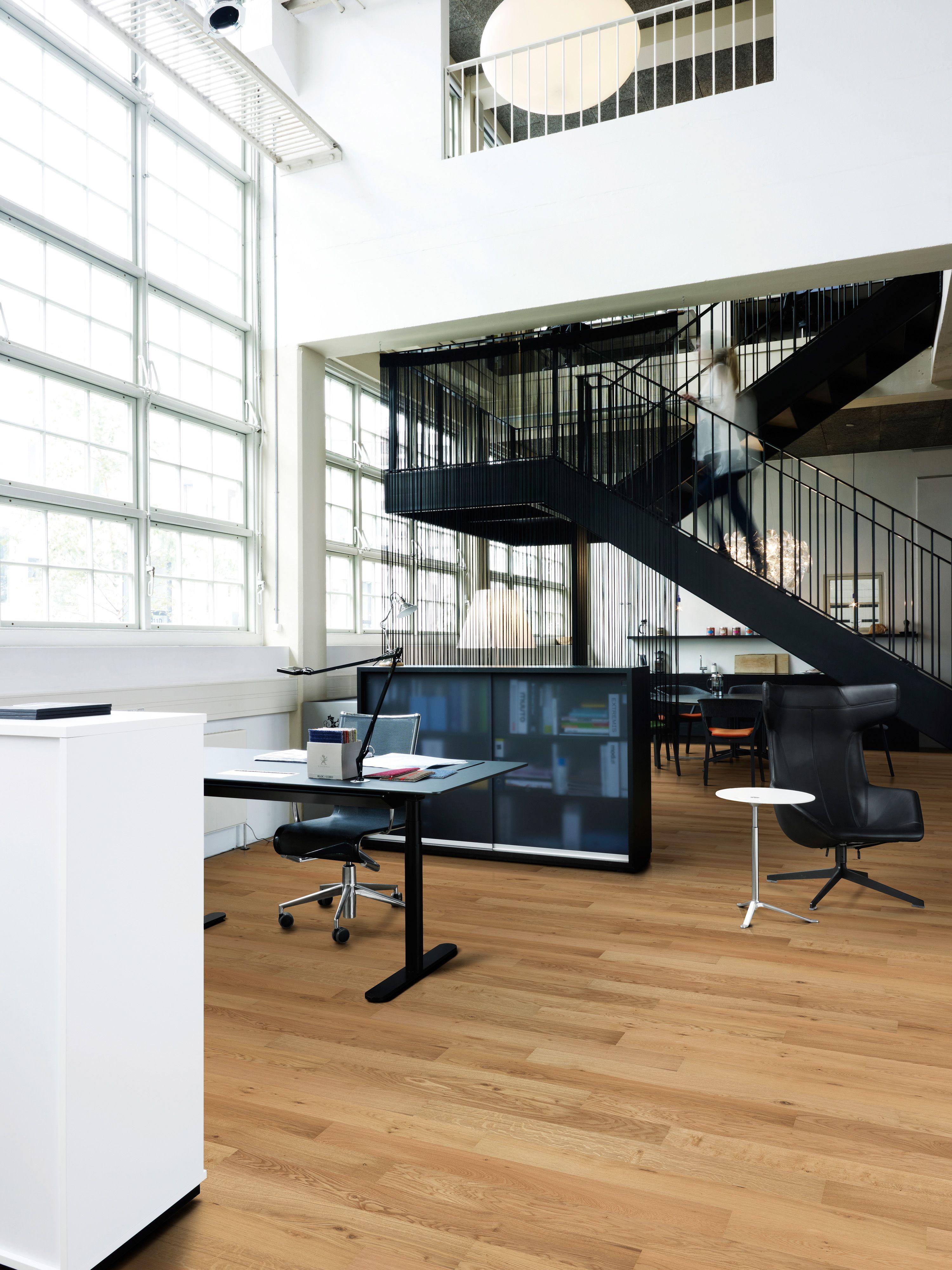 2-Stab Kollektionen von Kährs Parkett passt perfekt zum Büro | Mehr ...