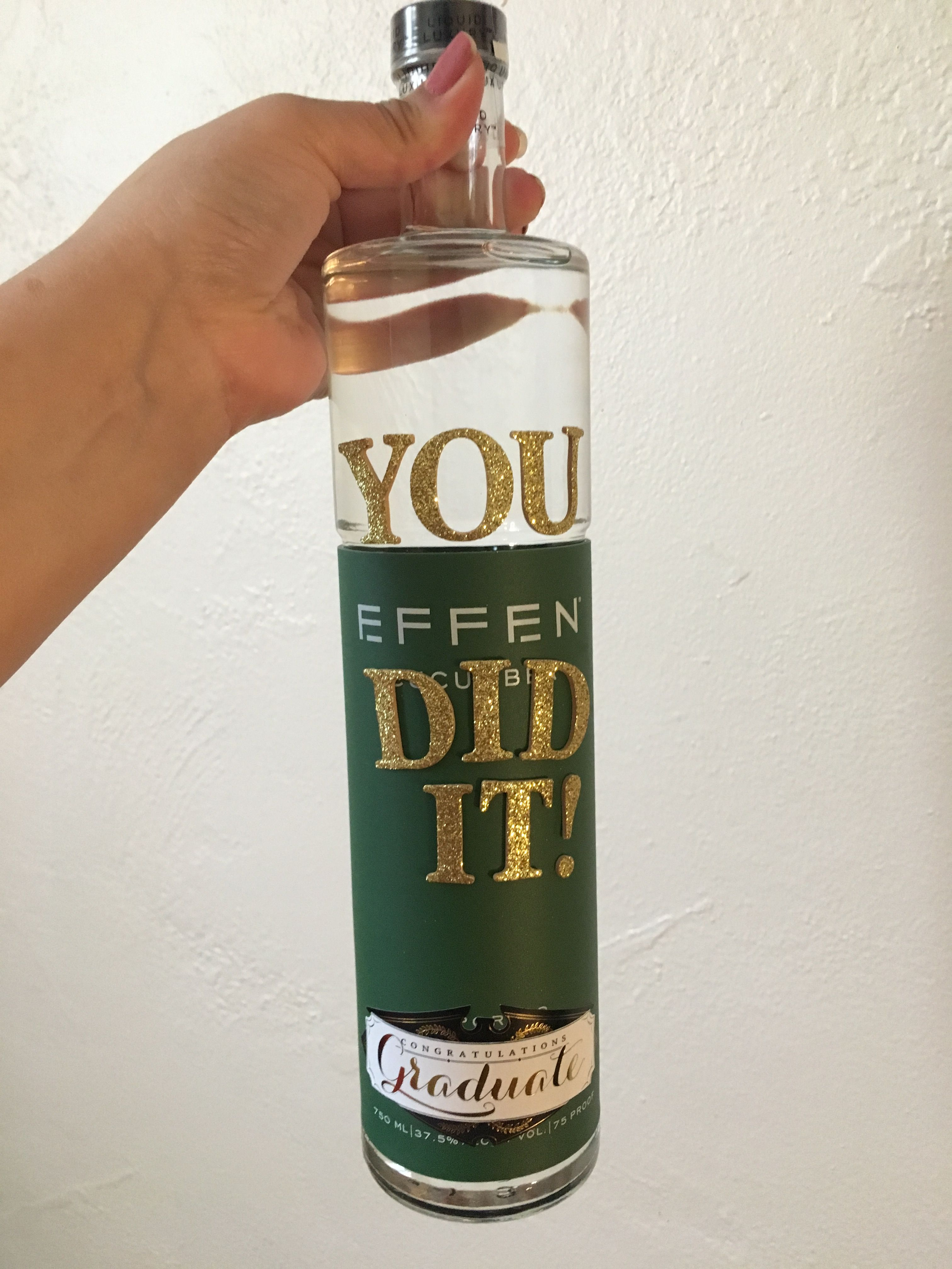 College graduation gift effen gift you did it college
