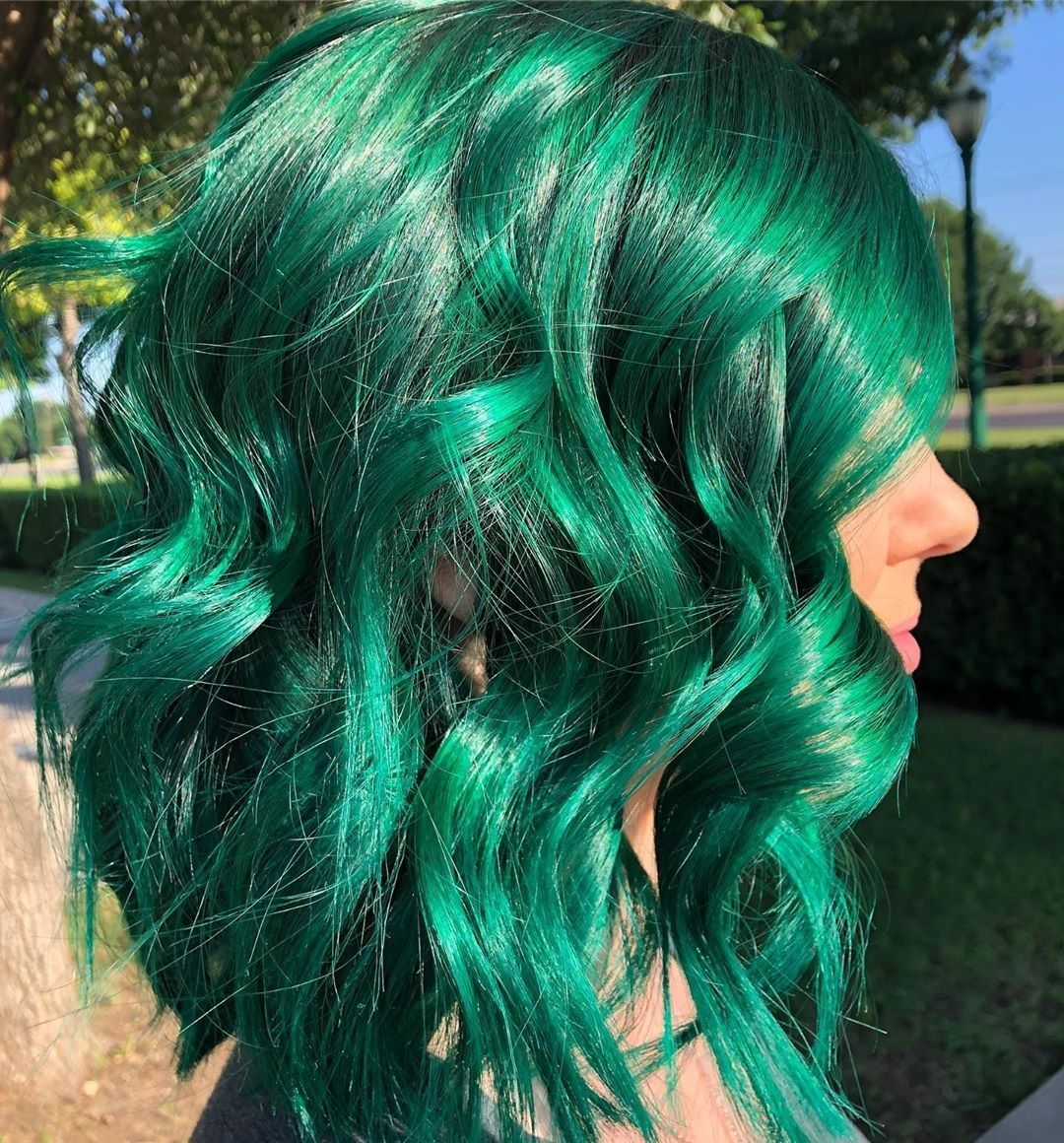 Shiny And Stunning Juniper Green Cerulean Sea Blend By