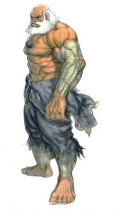 Old Male Monk Personagens Street Fighter Ilustracoes Anime Luta