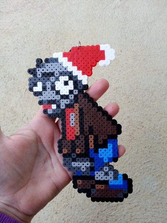 Christmas Ornament Plants vs Zombies Zombie by BurritoPrincess - Christmas Ornament Plants Vs Zombies Zombie By BurritoPrincess