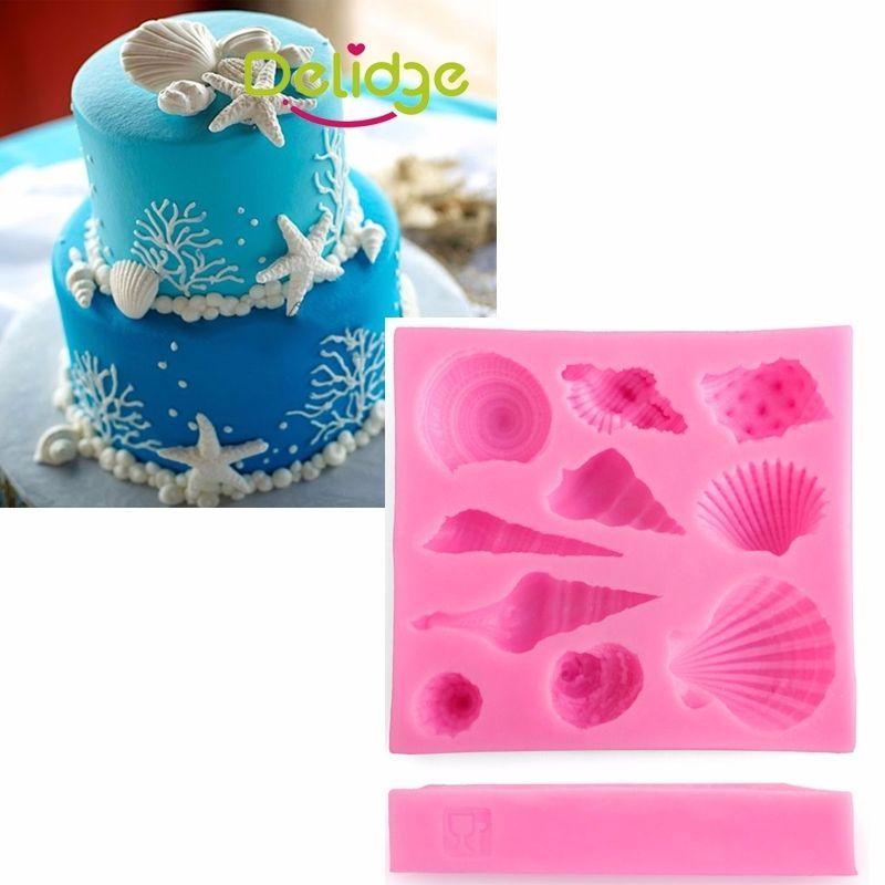 3d Silicone Mold Sugar Art Tool Flower Fudge Cake Mold SL