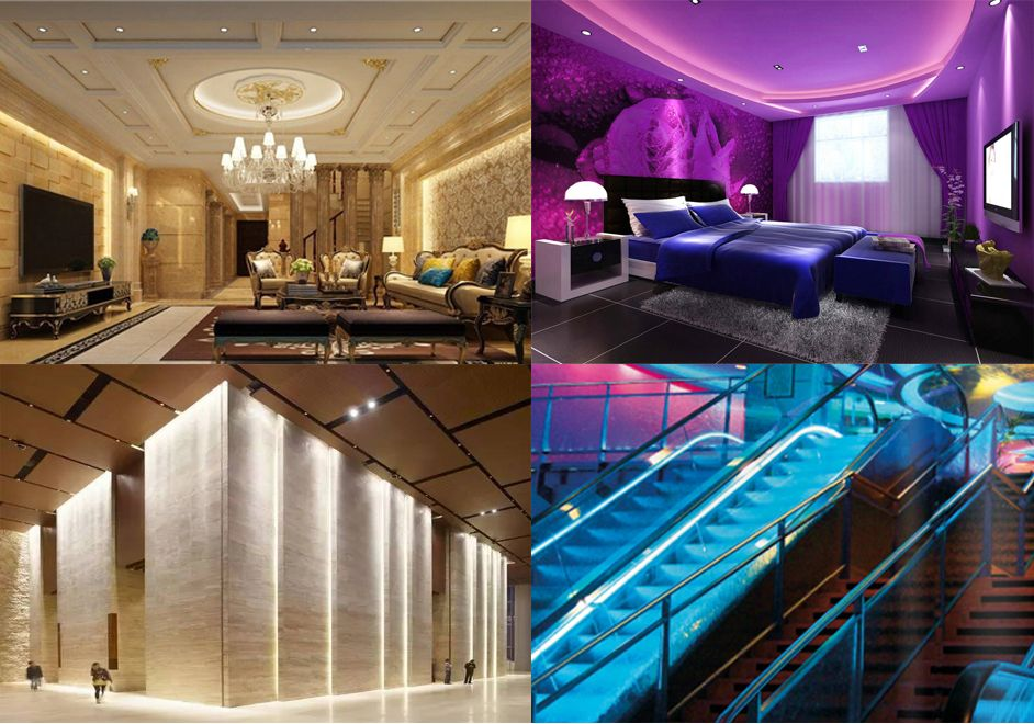 High Brightness Led Light Strip Can Be Installed On The Wall Or