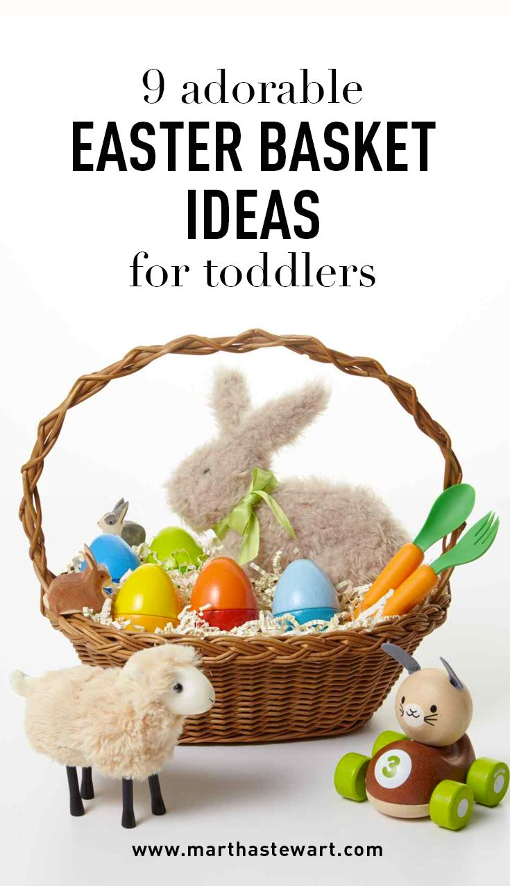 9 adorable easter basket ideas for toddlers chocolate bunny easter negle Choice Image