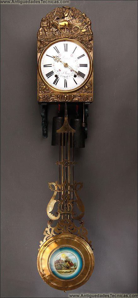 Relojes antiguos de pared dibujos - Reloj para pared ...