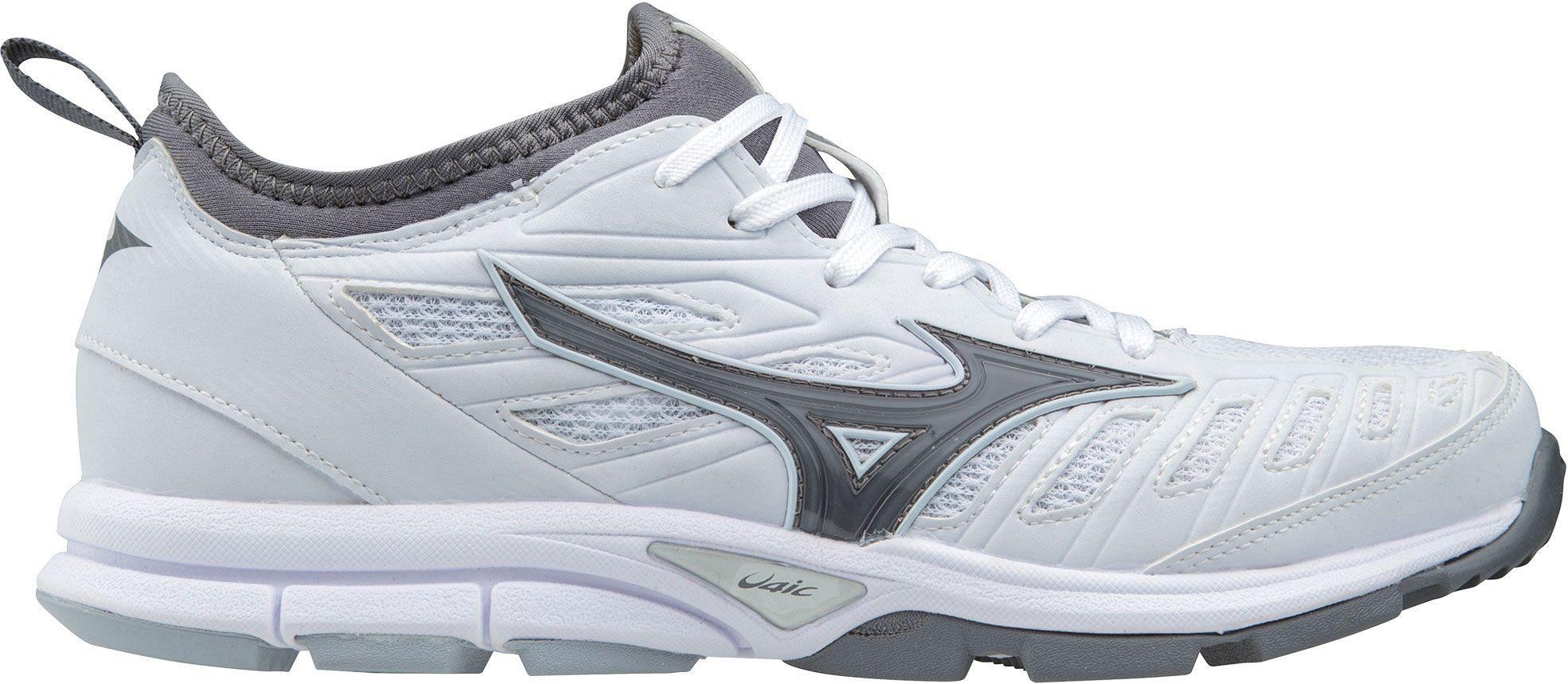 Photo of Mizuno Women's Players Trainer 2 Softball Turf Shoes, White
