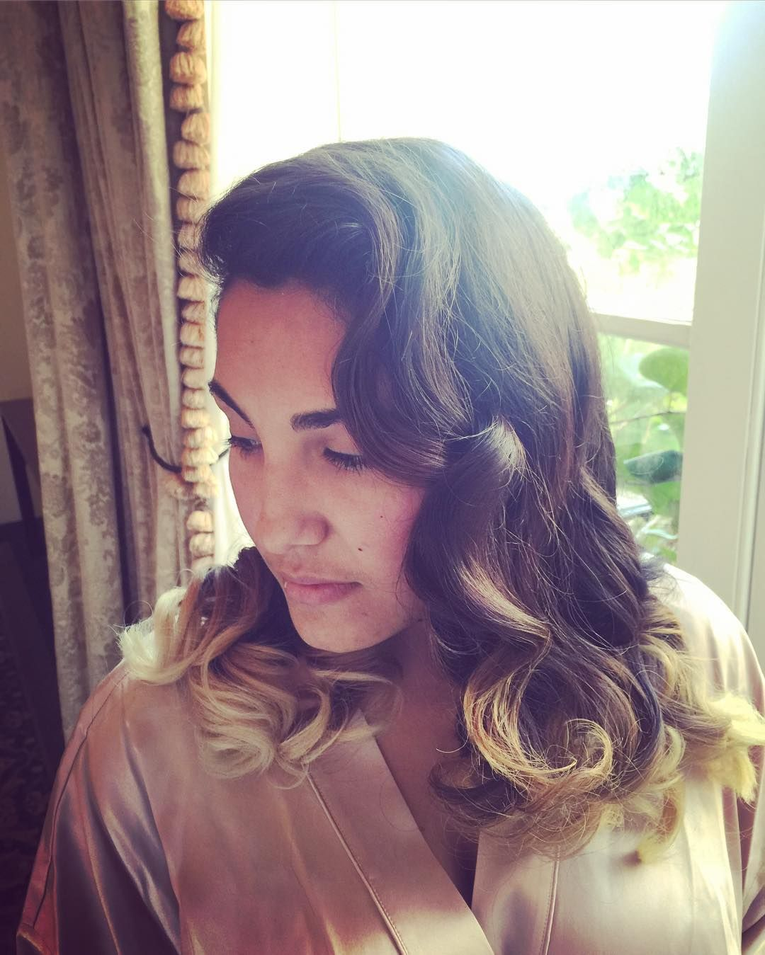 Vintage glam waves  #hair #hairstylist #hairstyle #style #hairideas #curls #waves #vintagehair #bridesmaid #wedding #weddinghair #weddingideas #bridal #elledamianhair #Alamango #Bridal #Textiles #Wedding #AlamangoBridal #AlamangoTextiles #Malta #LoveMalta #Bridesmaid #WeddingDress