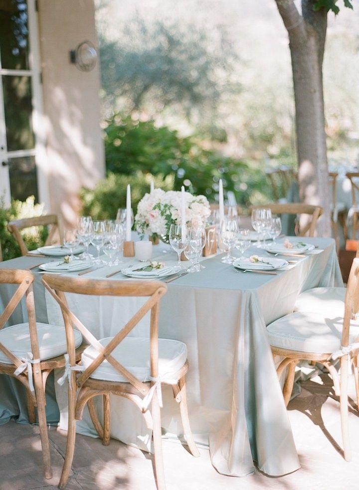Elegant Blush Napa Wedding At Black Swan Lake Reception Elegant