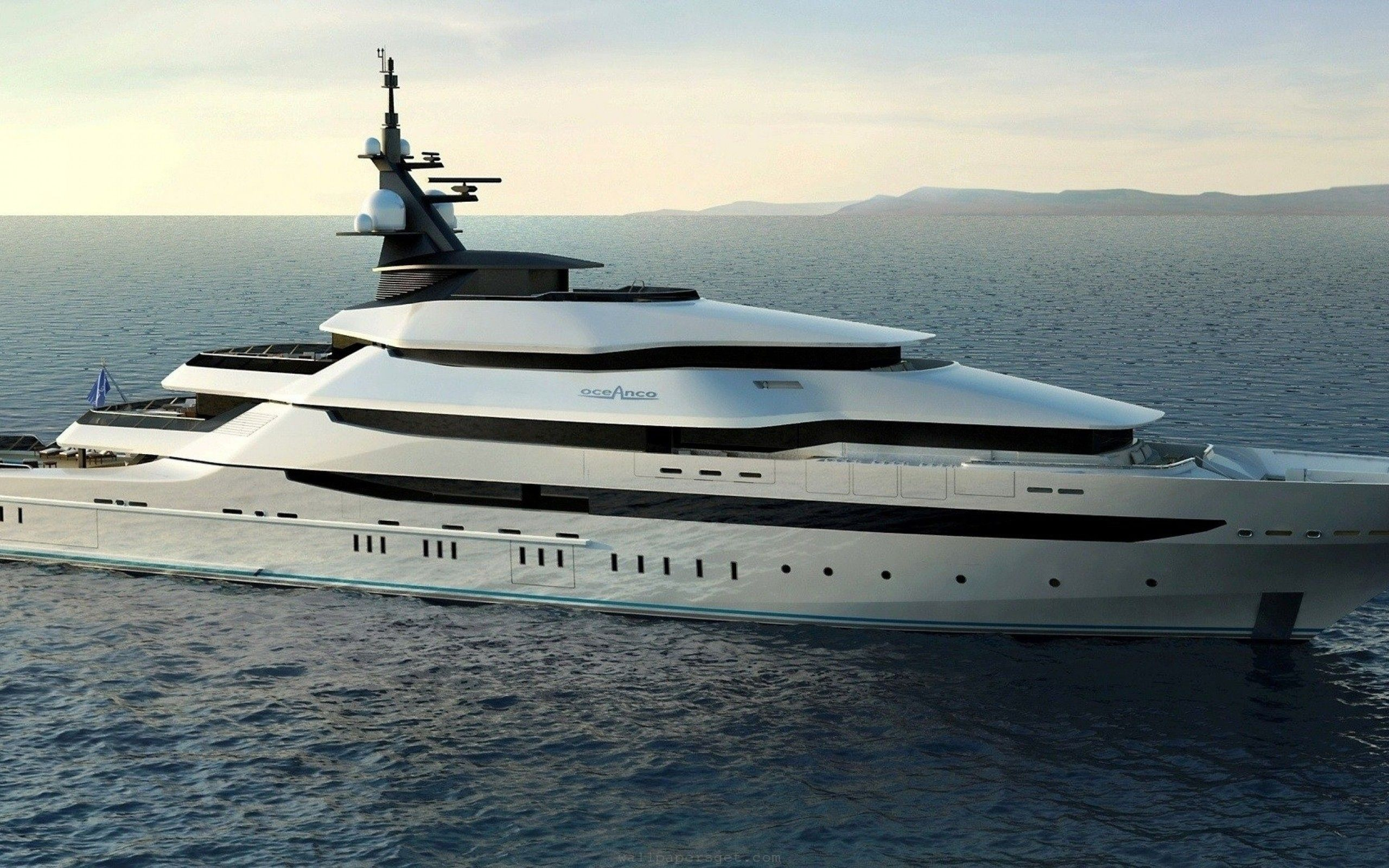 Hd Wallpaper Oceano Yacht 2560x1600 Curvy Yacht Builders