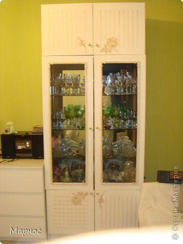 Декор предметов Роспись весь шкафчик Краска