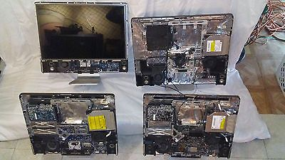 LOT OF 4 Apple A Series Computers 2-A1224 and 2 A1225 AS IS No Bezel/Glass