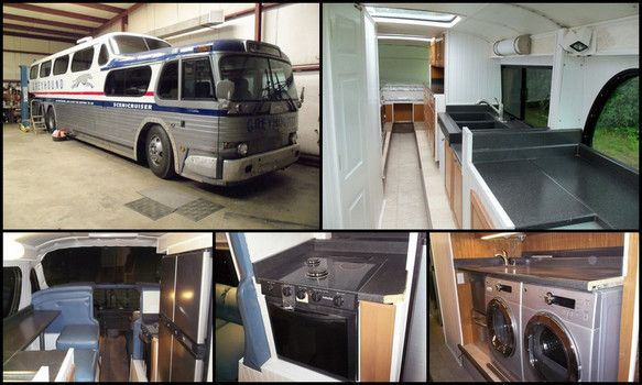 gmc scenicruiser motorhome conversion up for sale. Black Bedroom Furniture Sets. Home Design Ideas
