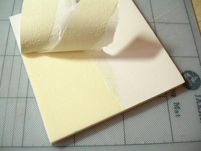 Creating Surface Textures on Foamboard - Tutorial