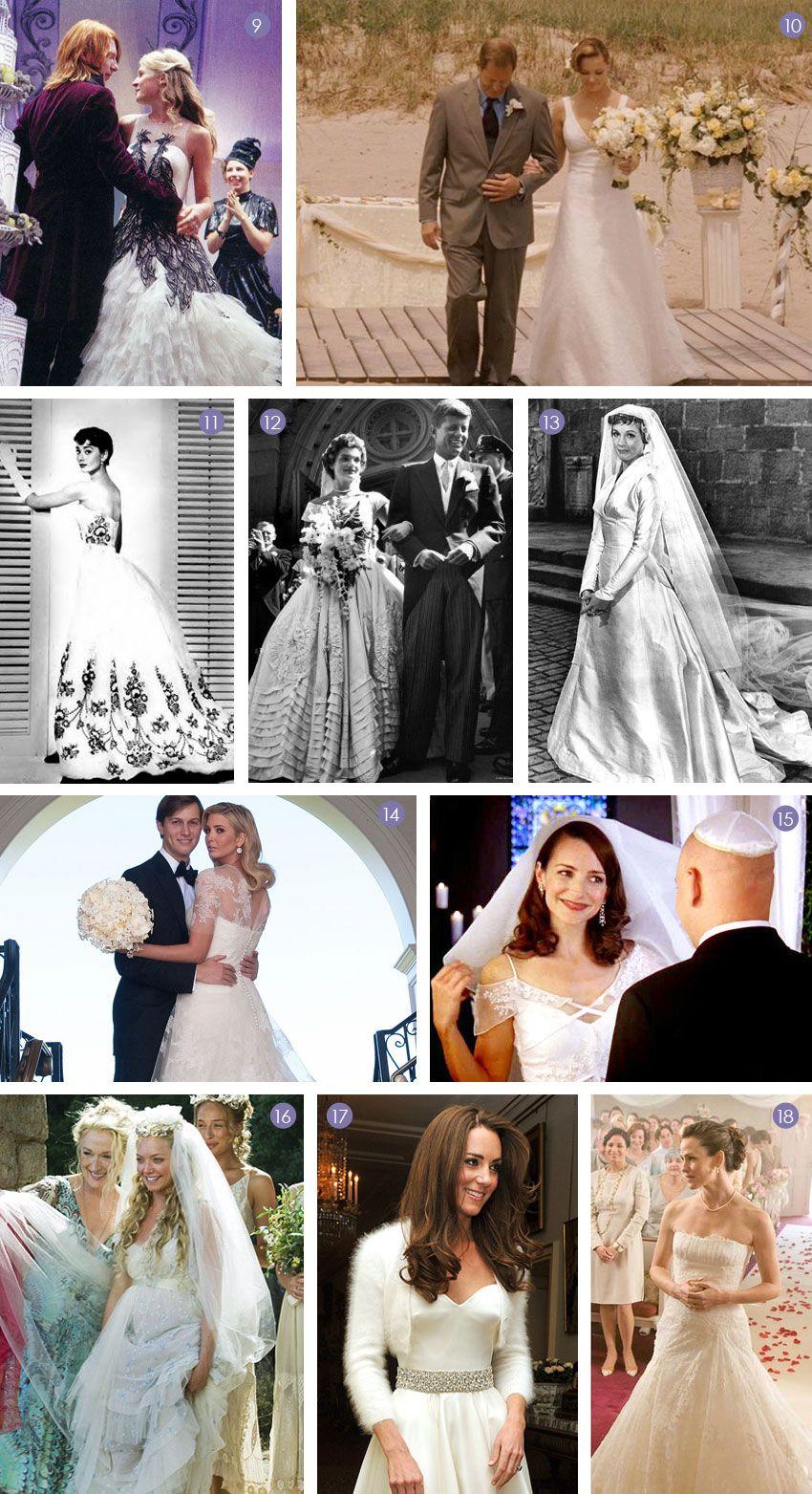 Famous wedding dresses  dresses  Weddings  Pinterest  Iconic dresses Famous wedding
