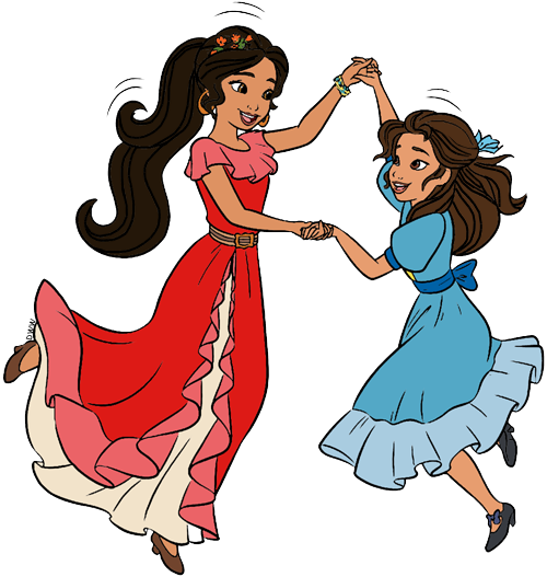 Princess Isabel And Elena Of Avalor 2d Elena Of Avalor