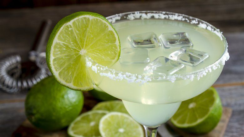 how to make a virgin margarita with margarita mix
