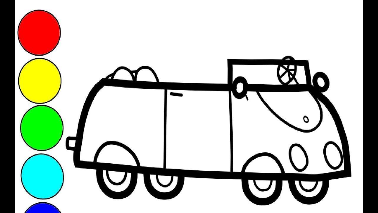 Peppa Wutz Auto Zeichnen Und Malen Fur Kinder Zeichnen Peppa Pig Auto Youtube Make It Yourself Auto