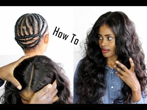 3 Part Closure Sew In Braid Pattern Install Detailed