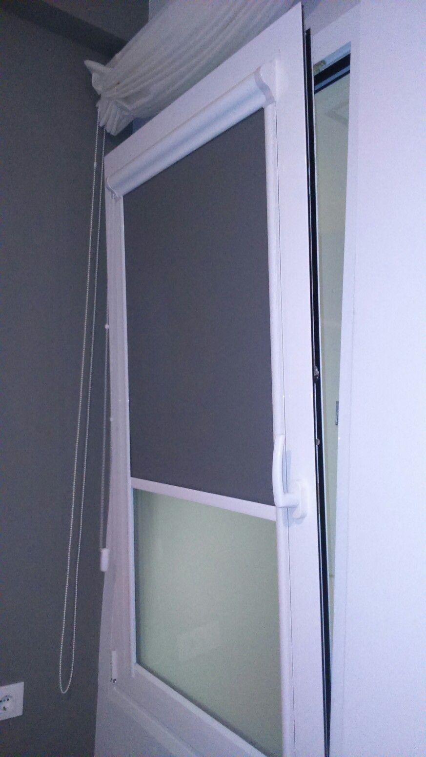 estor integrado en ventana oscilobatiente  MINIROLER en