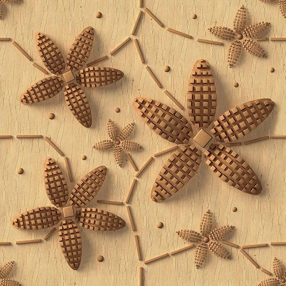 3d pattern , wood texture, seamless. Floral ornament. Picture for printing, decor, wallpaper. For commercial use. 6000x6000 pixel #woodtextureseamless