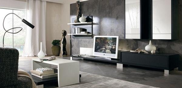 design deko wohnzimmer schwarz inspirierende bilder von deko ideen - Deko Wohnzimmer