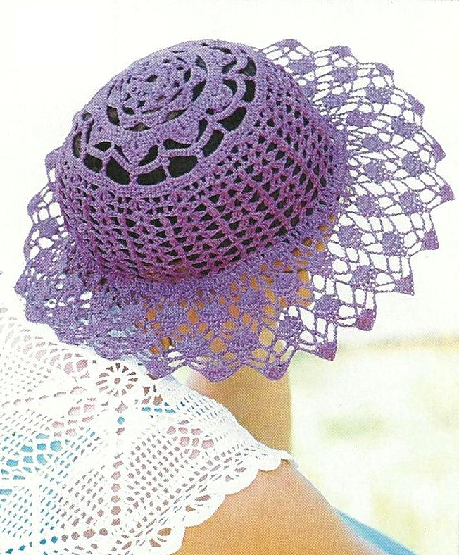El sombrero de ganchillo es un artículo que lleva muchos años de ...
