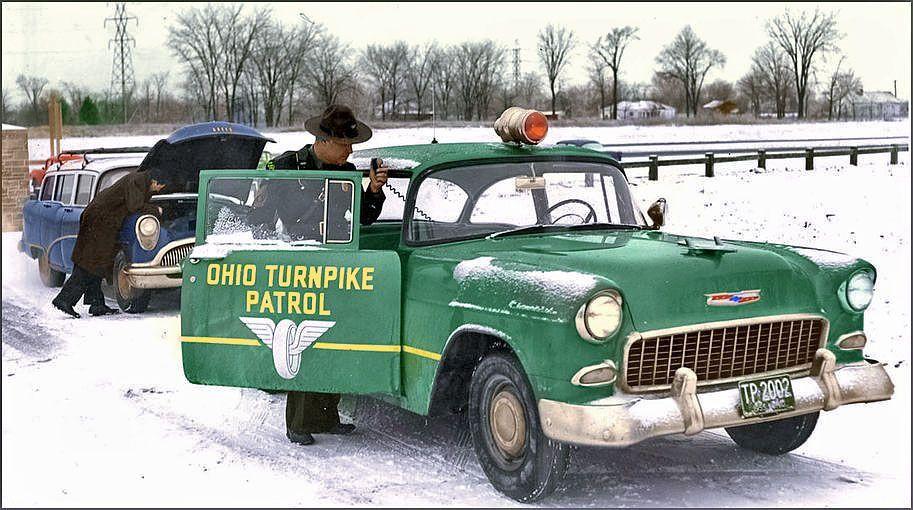 1955 Ohio Highway Patrol Police Cars Old Police Cars Police Car Models