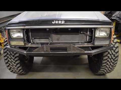Lbp Xj Cherokee Episode 3 Front Bumper Youtube Jeep Cherokee