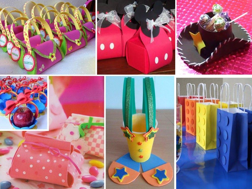 Manualidades en Goma Eva para cumpleaños | Centros de mesa, Gift wrapping,  Fiestas
