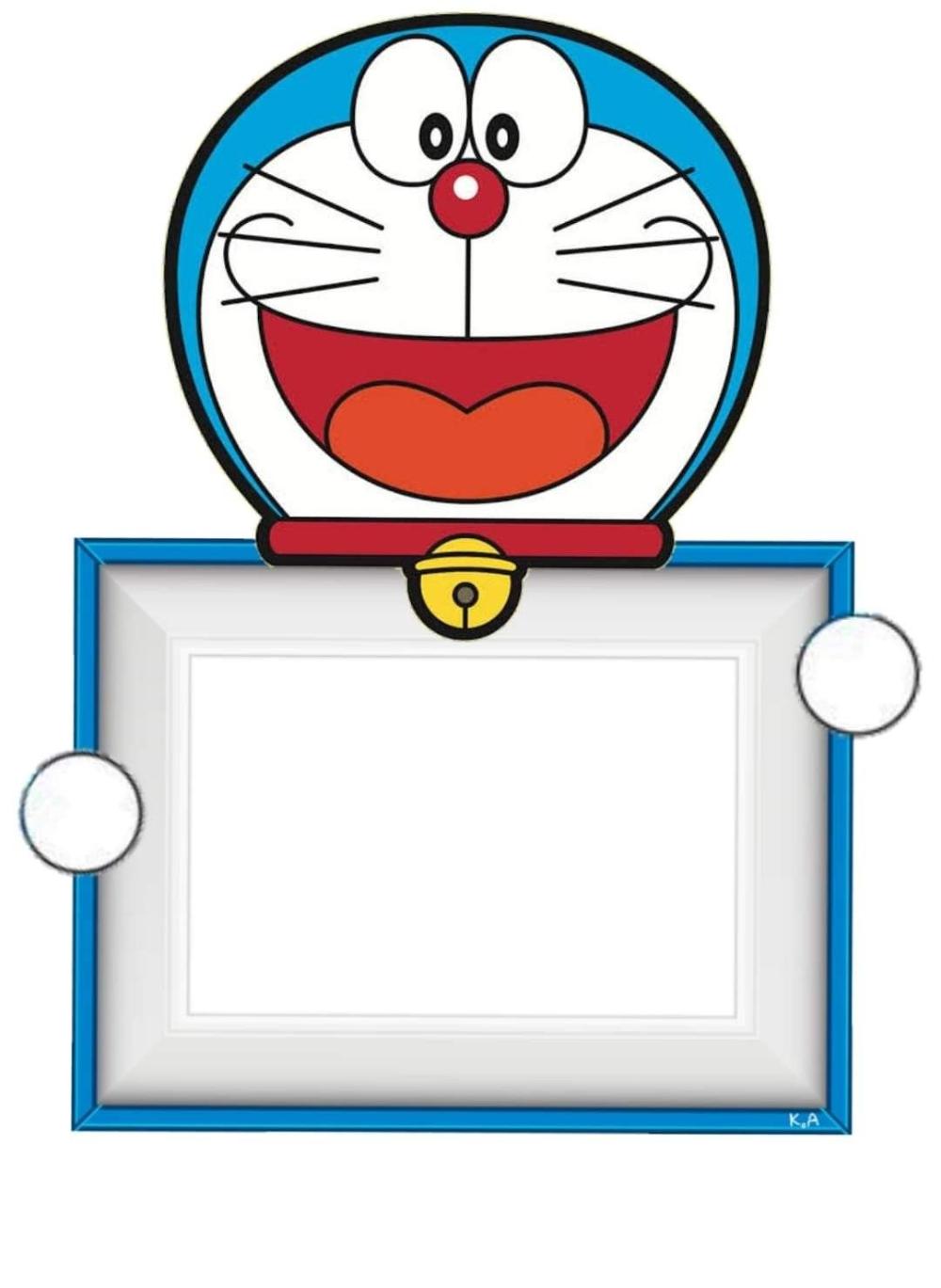 Doraemon Invitation Background