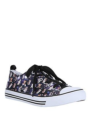 b22797b7c14 Galaxy Cats Lace-Up Sneakers