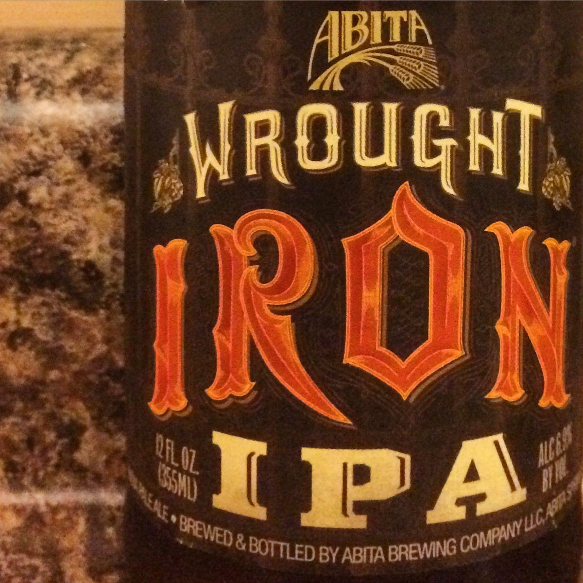 Abita Wrought Iron Ipa Craft Beer Wrought Bottle