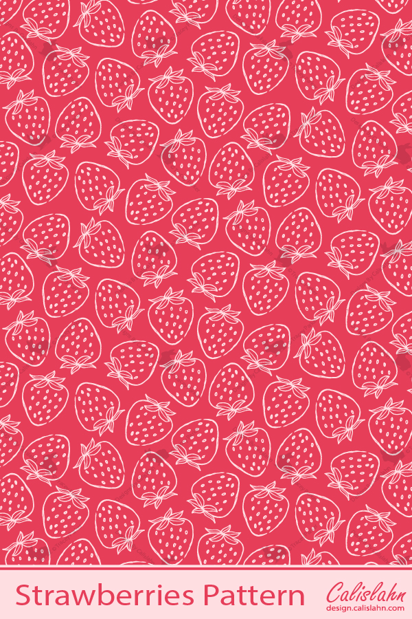 Fruit Patterns | Designs by Calislahn #surfacedesign #seamlesspattern #repeatpattern #surfacepatterndesign #surfacepattern #pattern #vector