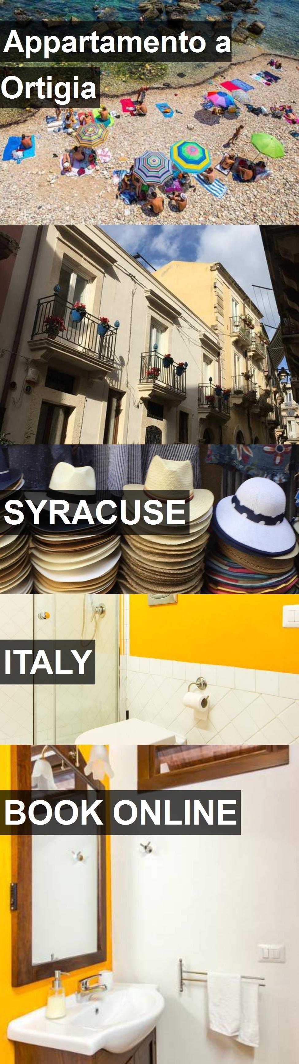 Hotel Appartamento a Ortigia in Syracuse, Italy. For more